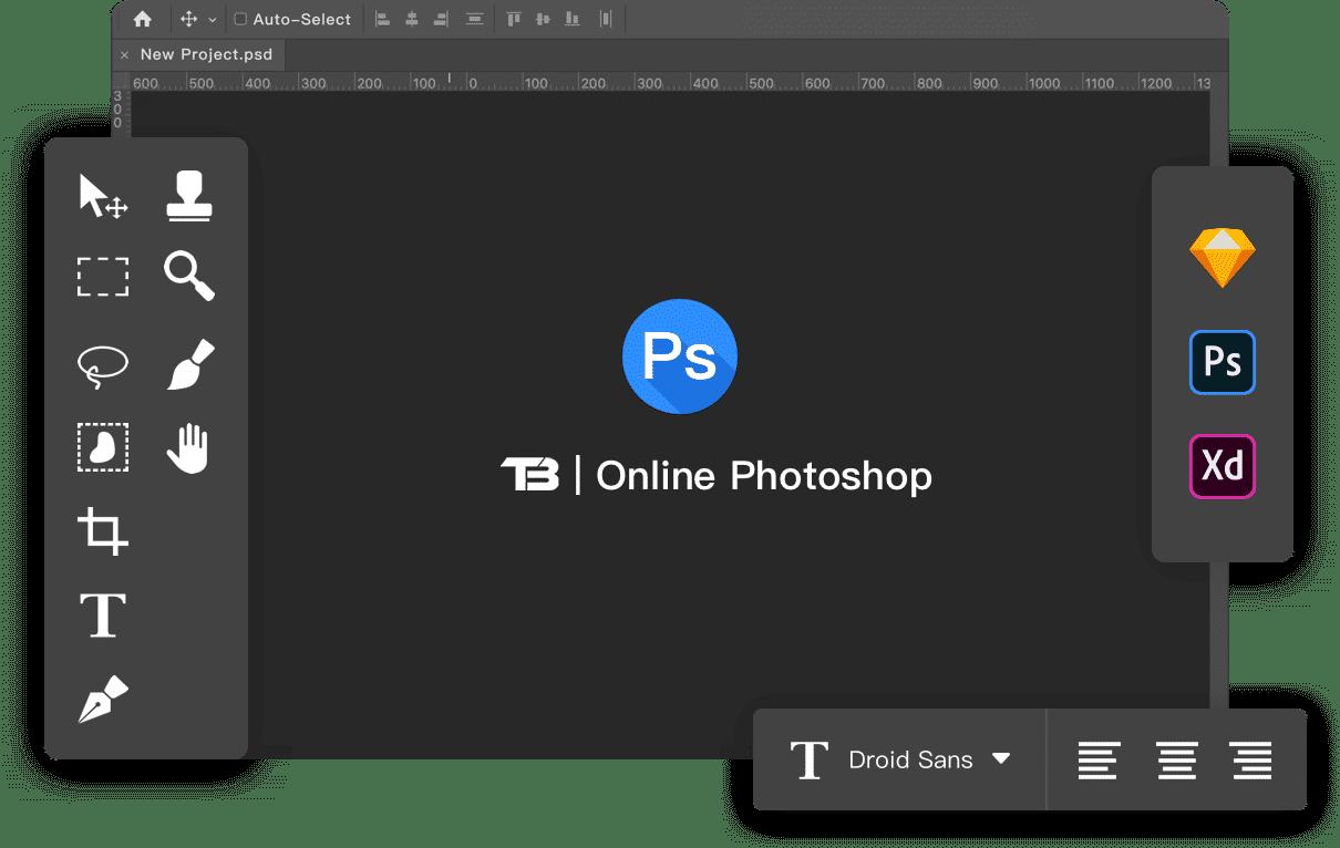 Photoshop Tronbuilder Free Website Builder